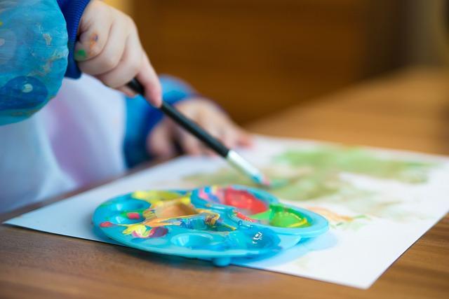 חומרי יצירה לילדים